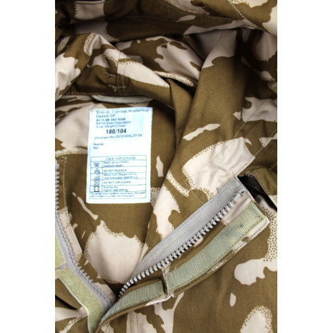 British Army Parka Desert DPM smock Original windproof sas label