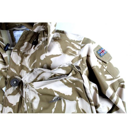 British Army Parka Desert DPM smock Original windproof sas pocket