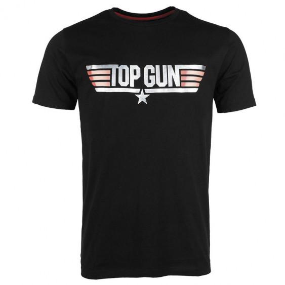T-Shirt TOP GUN Nera