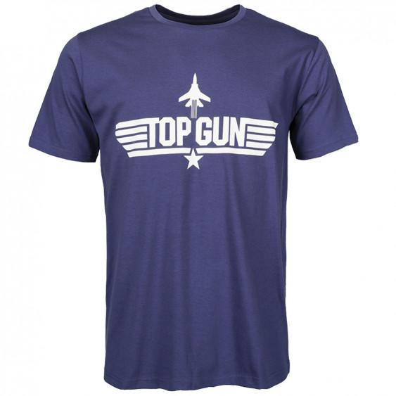 T-SHIRT TOP GUN Blue