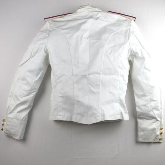 Army Academy summer white jacket Somalia mission back