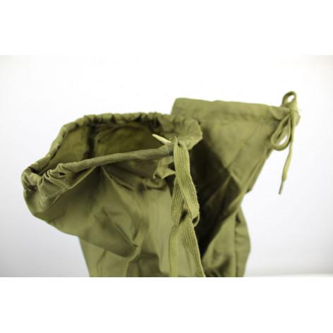 Nylon gaiters original Italian Army OD cordura lace