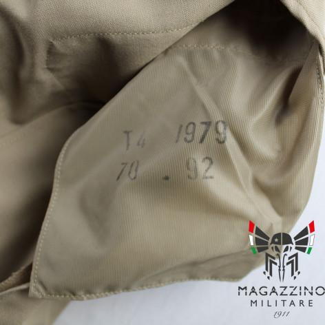Uniform khaki jacket original French Navy New size label
