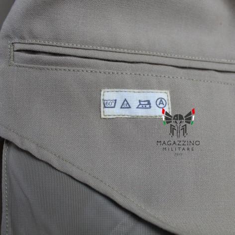 Uniform khaki jacket original French Navy New washing label