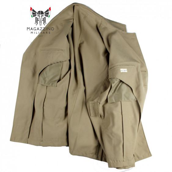 Uniform khaki jacket original French Navy New interior