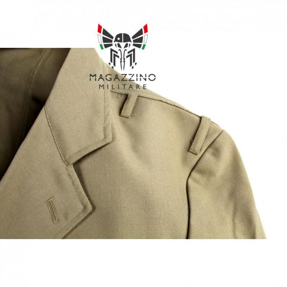 Uniform khaki jacket original French Navy New epaulette