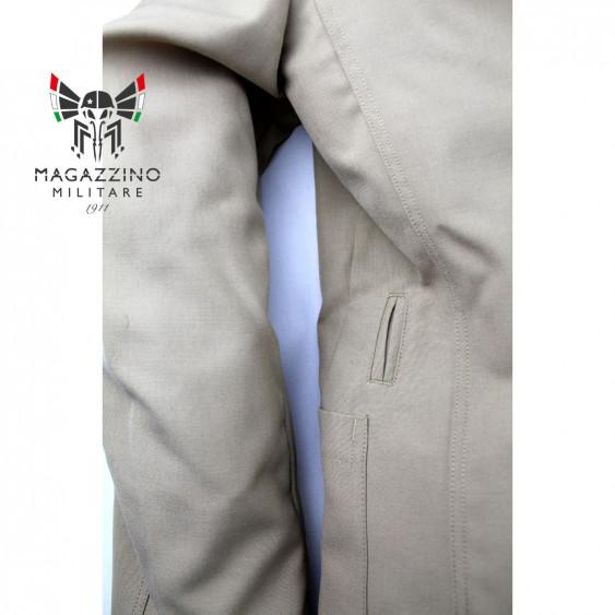 Uniform khaki jacket original French Navy New sleeve