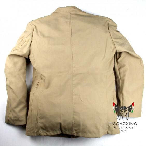 Uniform khaki jacket original French Navy New back