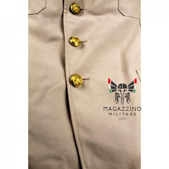 Uniform khaki jacket original French Navy New buttons