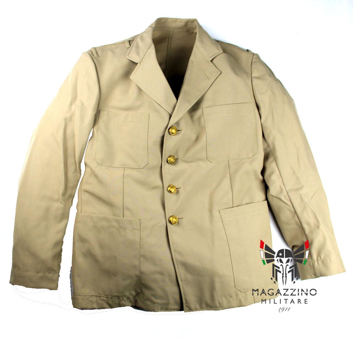 Uniform khaki jacket original French Navy New