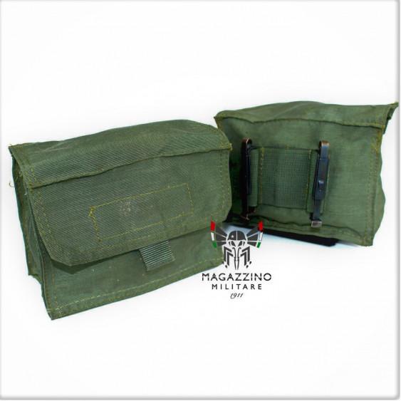 OD Original Italian Army Pouche horizontal nylon