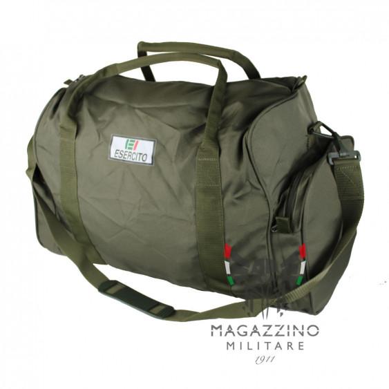 Borsa militare ginnica originale Esercito Italiano NUOVA nylon v.o.