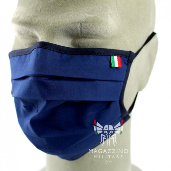 Protective Mask made in Italy Blue