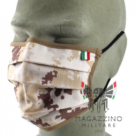 Protective Mask made in Italy Vegetato Desert