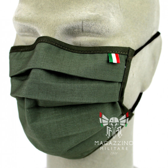 Protective Mask made in Italy OD Olive