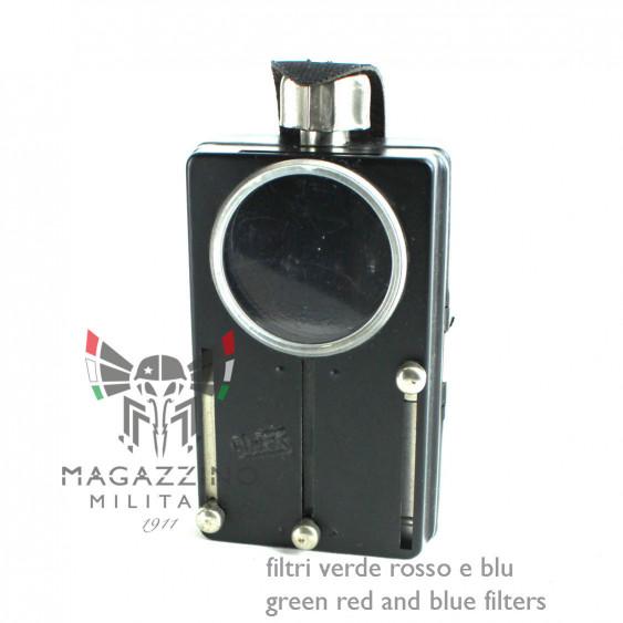 Torch signal flashlight DDR ex Germania Est Nera Artas filter