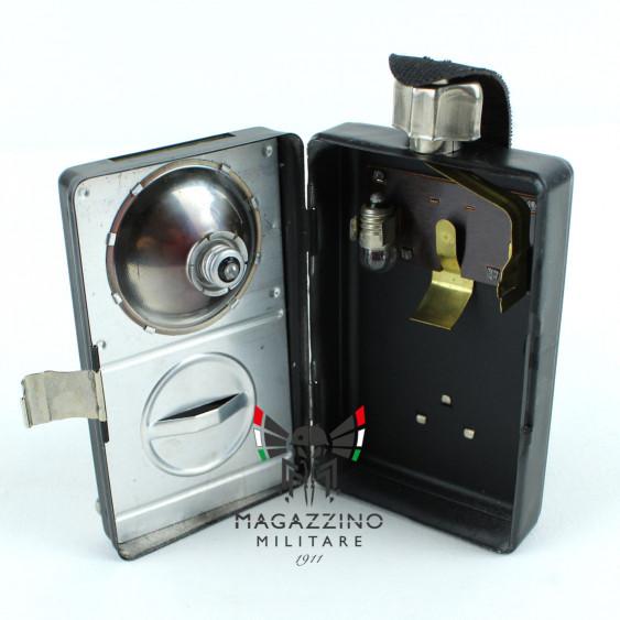 Torch signal flashlight DDR ex Germania Est Nera Artas inside
