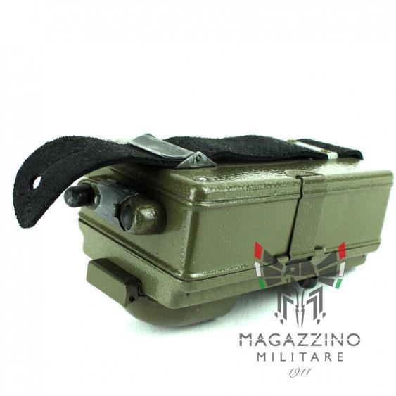 Czech Army 3-Colour Signal Flashlight top
