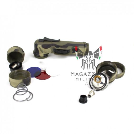 Fulton MX991 Flashlight Woodland pieces