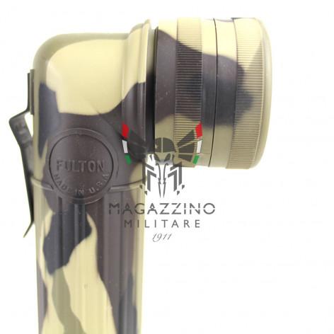 Fulton MX991 Flashlight Woodland head detail