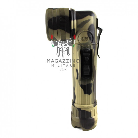Fulton MX991 Flashlight Woodland lateral Buttons