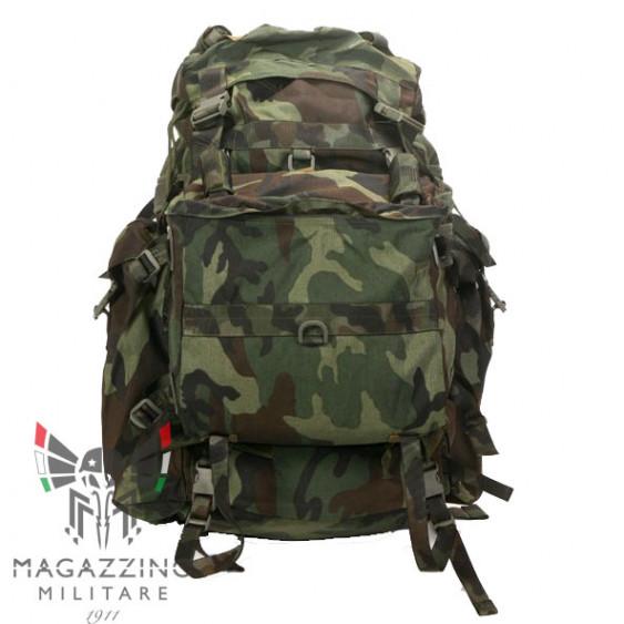 Original Alpine Backpack Italian Army Camo polychrome NEW
