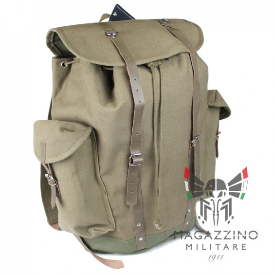 German mountain backpack leather straps