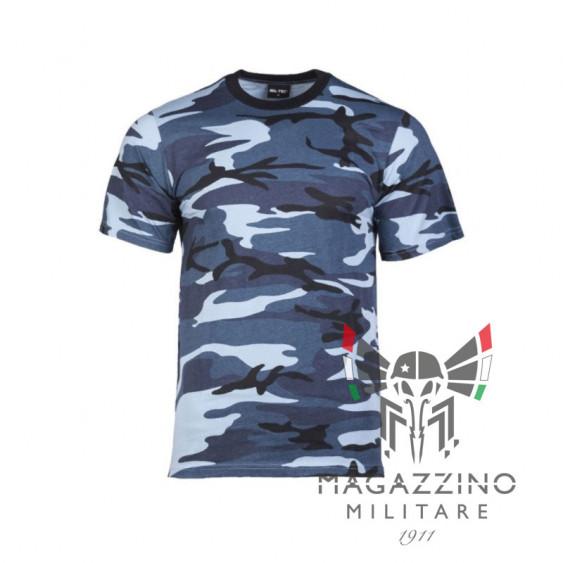 Maglietta T-shirt Bambino Skyblue