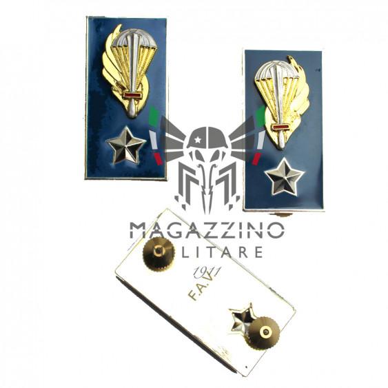Enamelled metal insignia for jacket Brigade Paratroopers Folgore