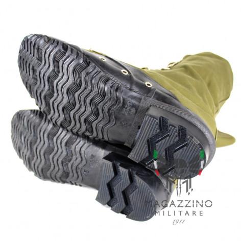 Boots Original Italian Army Battalion San Marco Lagunari sole