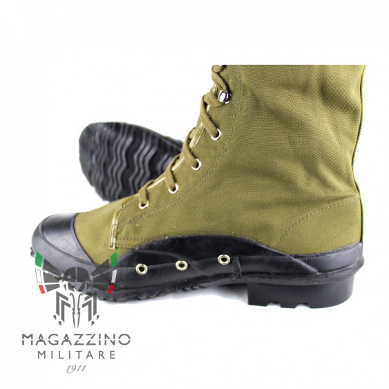 Boots Original Italian Army Battalion San Marco Lagunari dreinage holes