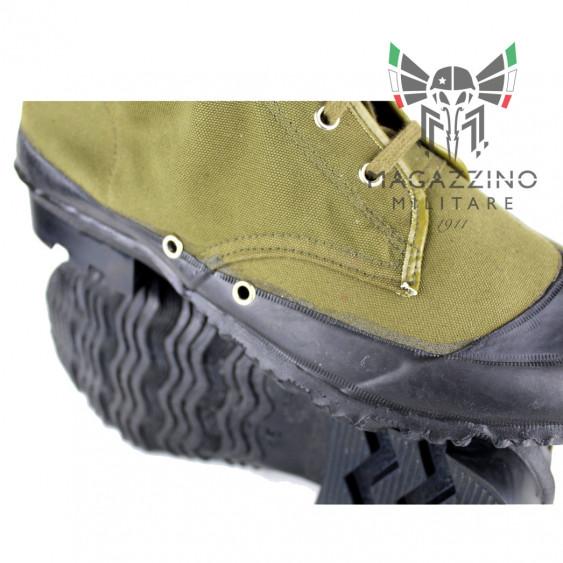 Boots Original Italian Army Battalion San Marco Lagunari detail