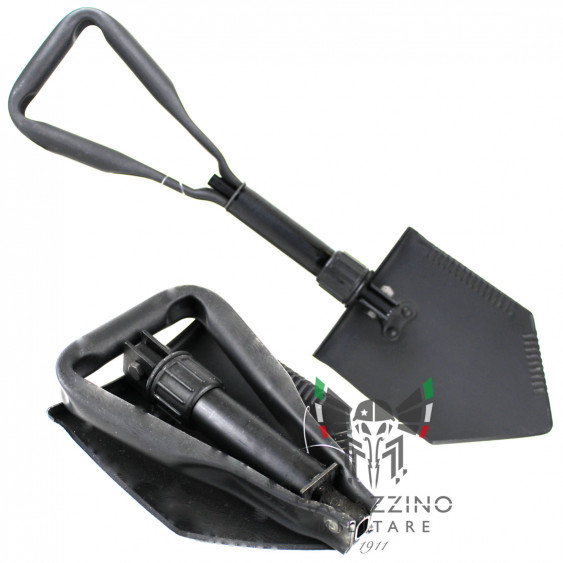 Folding shovel US Original American Army black NEW