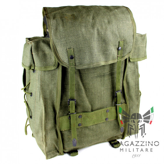 Original tactical backpack Italian Army canvas NEW