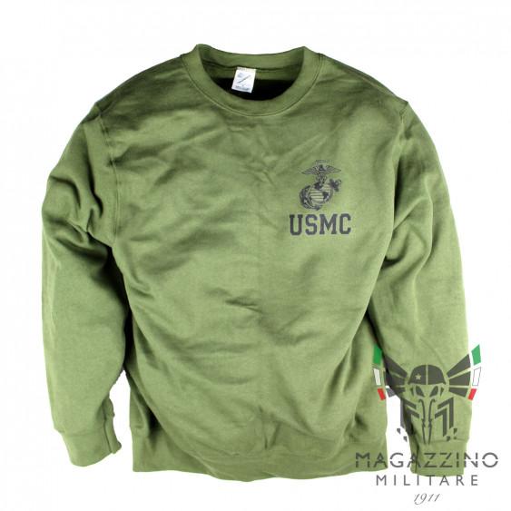 U.S. Army USMC Marines swetshirt OD olive