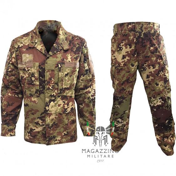 Complete Italian uniform vegetato jacket and pants FUTURE SOLDIER