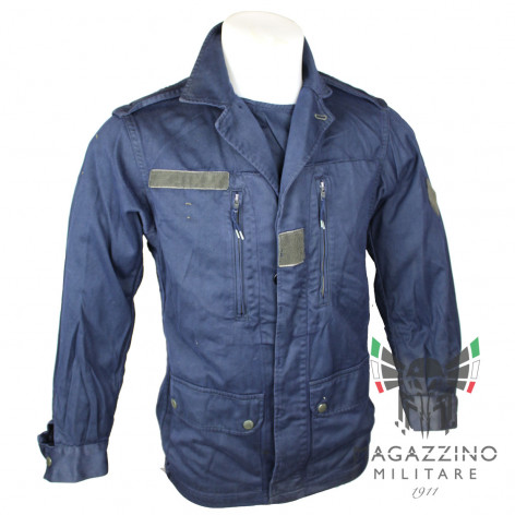 Original French army F1-F2 jacket in BLUE color