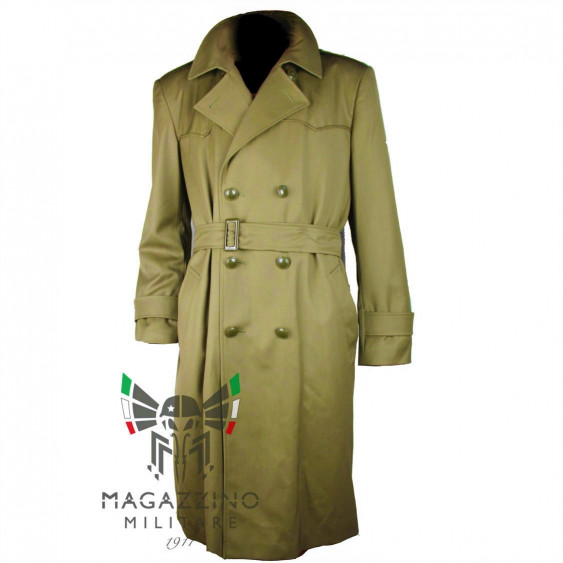 Waterproof coat Trench original Italian Army with liner NEW