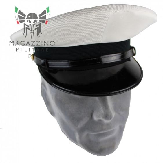 Cappello originale Marina Militare Italiana Bianco ufficiale