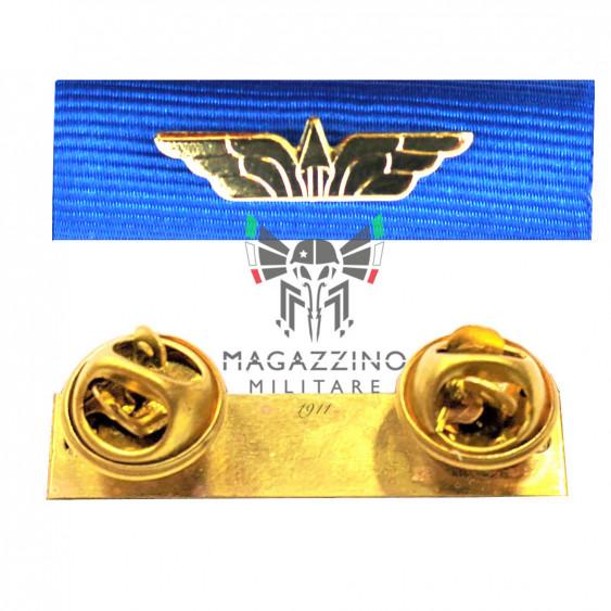 Fabric ribbon Aeronautica Militare Italian Air Force ribbons medalion