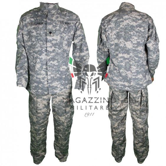 DIVISA ORIGINALE ESERCITO AMERICANO US ARMY ACU AT DIGITAL COMBAT ORIGINALE MADE IN USA
