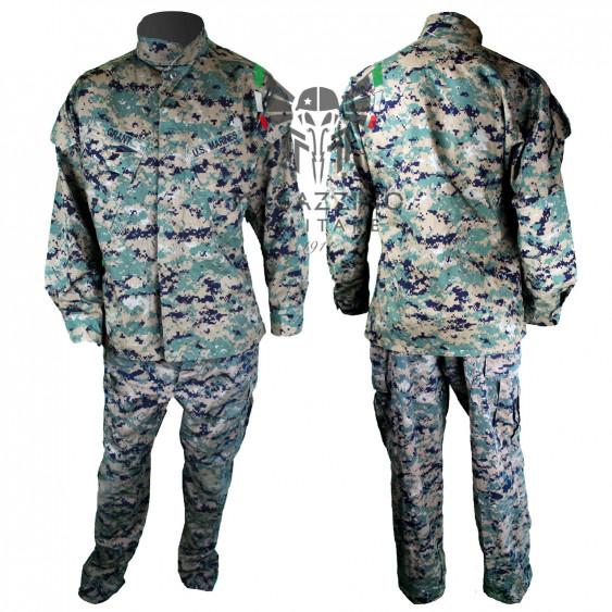 DIVISA ORIGINALE ESERCITO AMERICANO US ARMY USMC MARPAT ACU ORIGINALE MADE IN USA