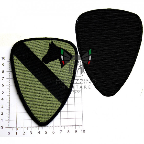 Arm Patch USA 1st cavalry Emboidered 13.7x11.4cm OD