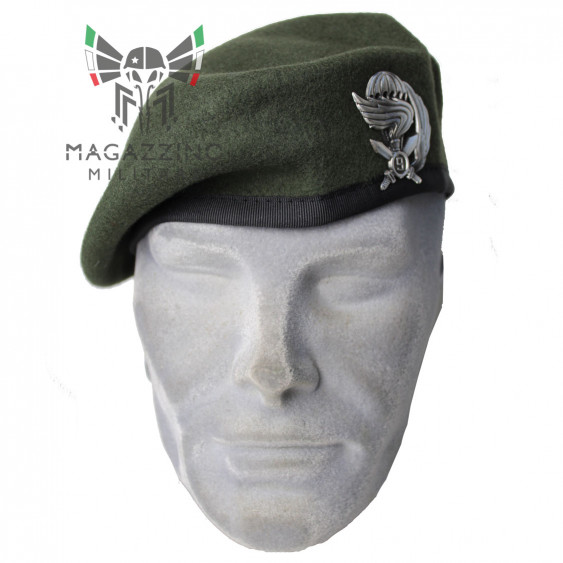 BASQUE PARATROOPERS 9TH COL MOSCHIN ITALIAN ARMY GREEN