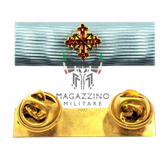 Fabric ribbon Benemerenza Giubilare Sacro Ordine Costantiniano di San Giorgio ribbons medalion