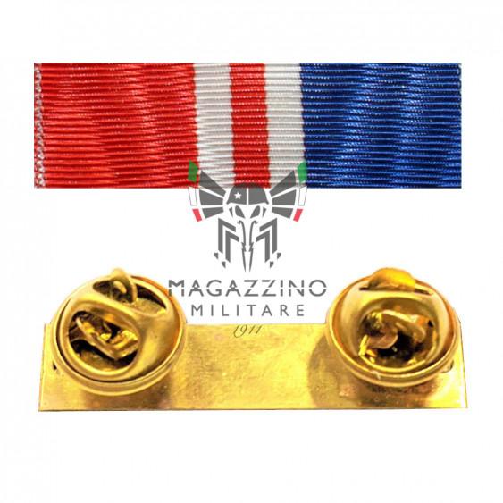 Fabric ribbon Campobasso Foggia 2002 eathquake ribbons medalion