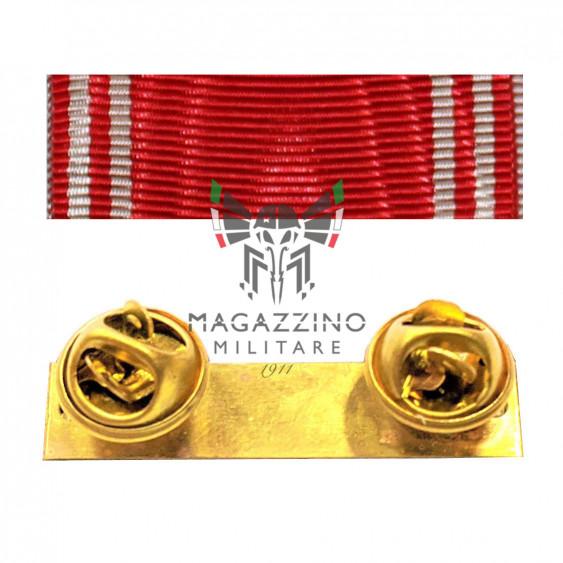 Fabric ribbon Firemen longevity ribbons medalion