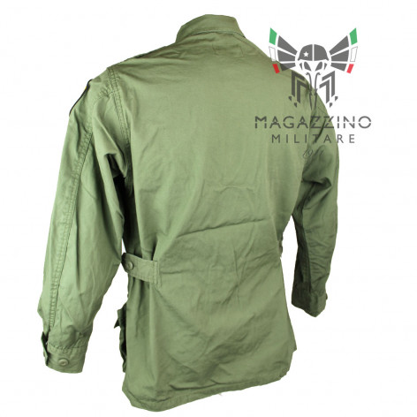 VIETNAM MILITARY JACKET 1st STCAVALRY TYPE FATIGUE MODEL back