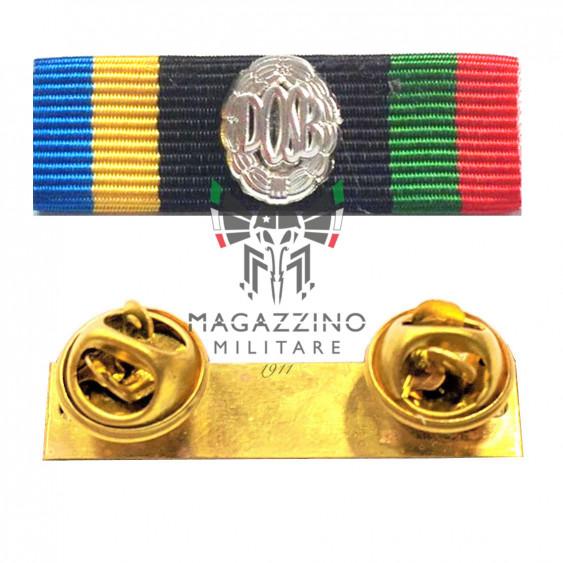 Fabric ribbon DOSB German Sport Patent SILVER ribbons medalion