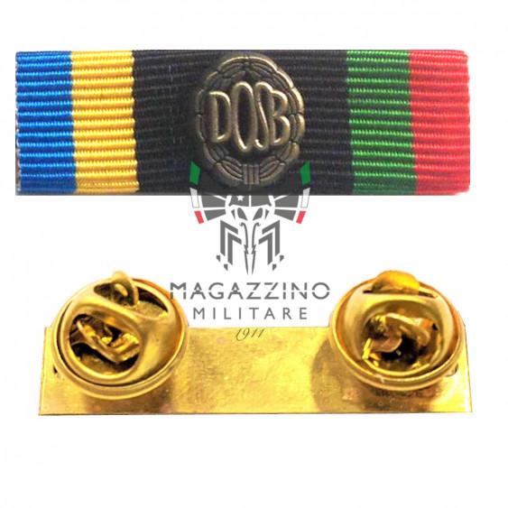 Fabric ribbon DOSB German Sport Patent BRONZE ribbons medalion